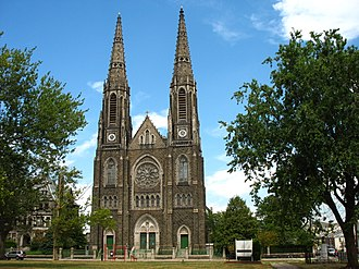 Elizabeth, New Jersey - Immaculate Heart of Mary and St. Patrick's Church, Elizabethport