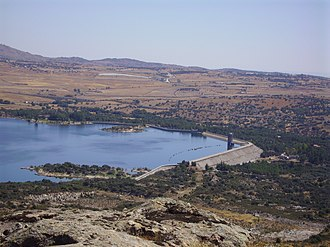 Santillana reservoir - Image: Embalse santillana illescas