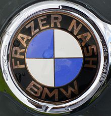 Description de l'image Emblem Frazer Nash BMW.JPG.