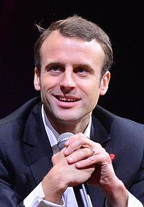 Emmanuel Macron nel 2014