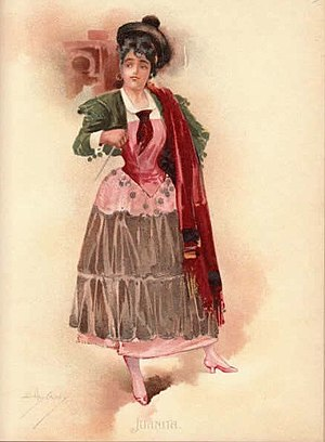 Emmie Owen - Owen as Juanita in The Chieftain