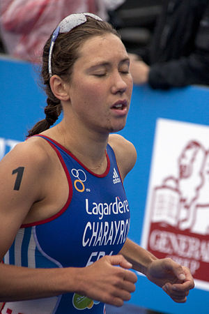 Emmie Charayron - Emmie Charayron placing third at the U23 World Championship in Budapest, 2010.