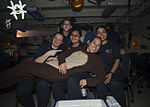 Engineering Department holds holiday party aboard USS Carl Vinson 141031-N-WD464-113.jpg