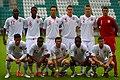 England U19 squad v Greece U19.jpg