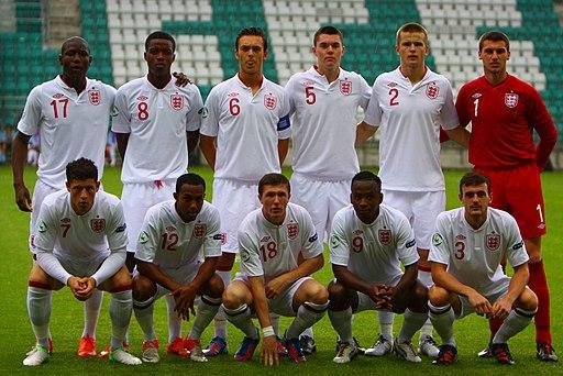 England U19 squad v Greece U19