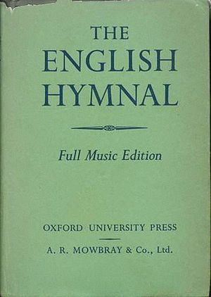 English Hymnal - Front cover