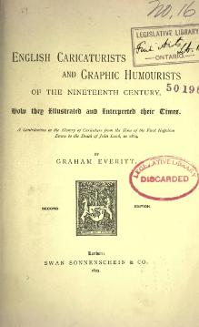 English Caricaturists and Graphic Humourists of the nineteenth century.djvu