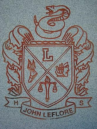 LeFlore Magnet High School - Image: Engozi Mfon Le Flore Shield 1