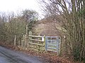 Entrance to Queendown Warren - geograph.org.uk - 1065578.jpg