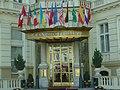 Entrance to the Grandhotel Pupp, Karlovy Vary, 2010.jpg
