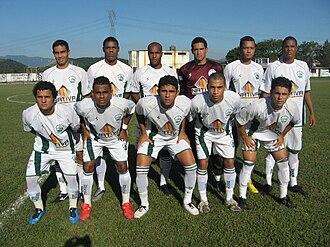 Serra Macaense Futebol Clube - Team photo from the 2010 season