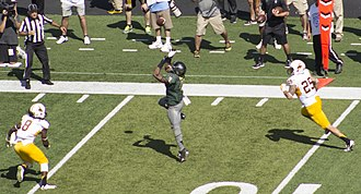 2014 Oregon Ducks football team - Erick Dargan makes his first of five interceptions on the year.