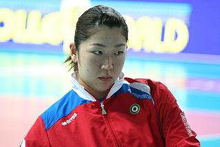 Erika Araki Japanese volleyball player