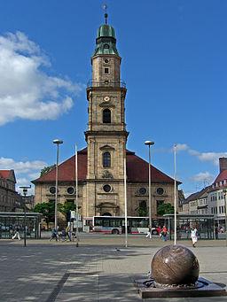 Erlangen Hugenotten Kirche front