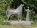 Erlangen Burgberggarten Heinrich Kirchner Mann mit Pferd 001.JPG