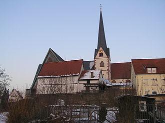 Erlenbach am Main - Image: Erlenbach Kirche