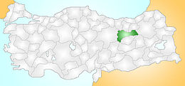 Türkiye'deki yeri