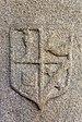 Escudo nunha lápida nas ruínas de Santa Mariña Dozo - Cambados-CA30.jpg