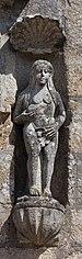 Escultura na fachada da igrexa de Santa Mariña de Cambados-CA2.jpg