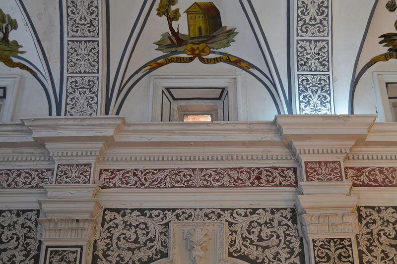 File:Església de la Mare de Déu dels Àngels de Benavites, entaulament.JPG - W...