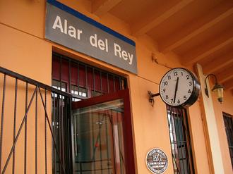 Alar del Rey - Station of Alar del Rey.