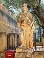 Estatua del rey Alfonso X de Castilla en el Alcazar de Córdoba.jpg