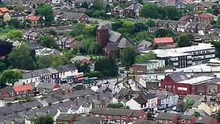 Eston town in North Yorkshire, England