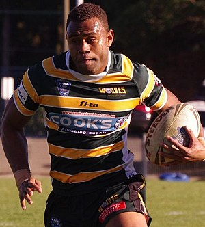 Eto Nabuli - Nabuli playing for the Windsor Wolves in 2013