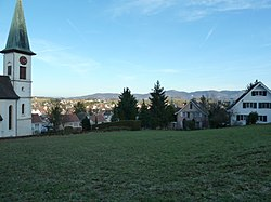 Skyline of Ettingen