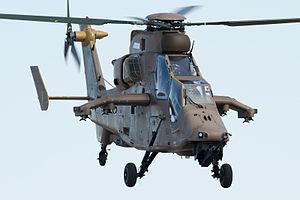 Eurocopter Tiger - Tiger in flight, 2012