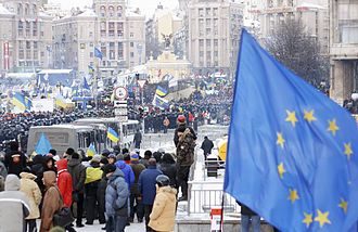 Annexation of Crimea by the Russian Federation - Euromaidan in Kiev, 11 December 2013