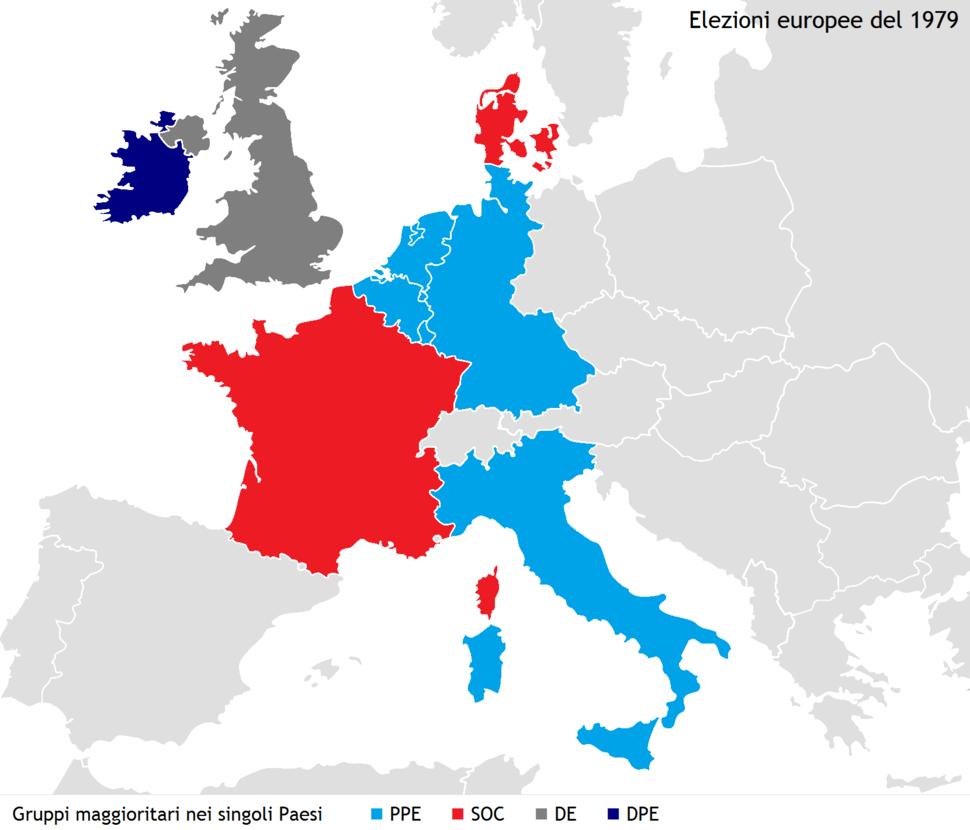 European Parliament election, 1979