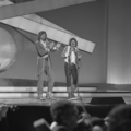 Eurovision Song Contest 1976 rehearsals - Austria - Waterloo & Robinson 2.png