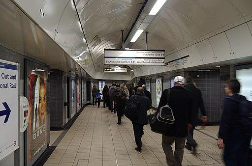 Euston station MMB 70