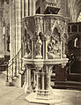 Exeter Cathedral. The Martyrs' Pulpit (Bishop Pattison Memorial Pulpit) (3610708641).jpg