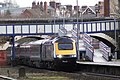 Exeter Central - fGWR 43180-43189 diverted down train.JPG