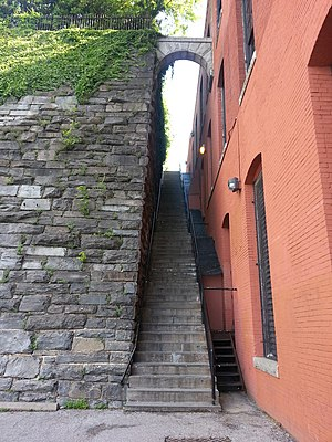 "The Exorcist (film) - The ""Exorcist stairs"" in Georgetown, Washington, D.C."