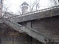 External stairs to Váralja Street - cca 23 Attila St., Budapest.JPG