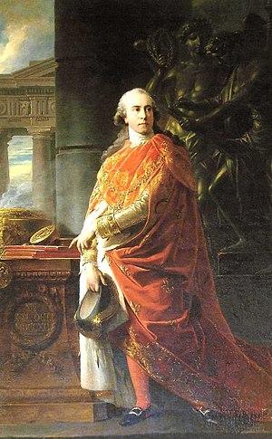 Marzio Mastrilli - Image: Füger Marzio Mastrilli, marquis de San Gallo (1790)