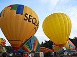 F-GPFT, F-HIPS, hot air balloons take-off at Metz, France, pic5.JPG