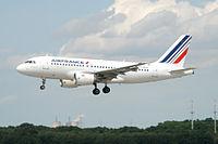 F-GRHJ - A319 - Air France