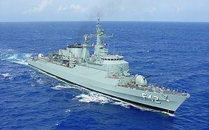 Brazilian frigate Constituição (F42) - Image: F42 Constituição