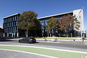 Canterbury Regional Council - The main office of Environment Canterbury on Tuam Street in Christchurch