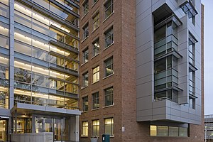 Food and Drug Administration - FDA Building 51 houses the Center for Drug Evaluation and Research.