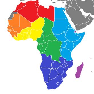 FIBA Africa - FIBA Africa subzones.