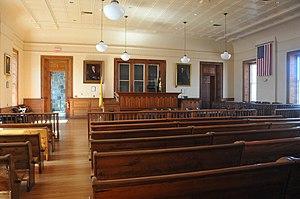 Hunterdon County Courthouse - Image: FLEMINGTON HISTORIC DISTRICT , HUNTERDON COUNTY, NJ