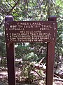 FLT M07 3.3 mi - Sign next to Hesse Lean-to - panoramio.jpg