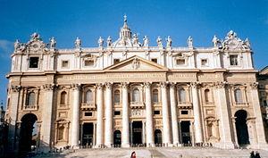 Carlo Maderno - Façade of St. Peter's Basilica
