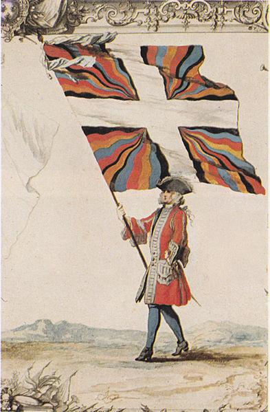 File:Fahne Schweizergarderegiment Frankreich 1721.jpg