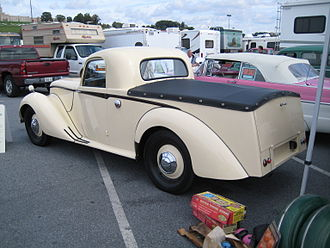 Armstrong Siddeley - Coupé utility for the postwar export drive